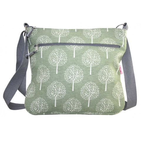 Large Messenger Bag - Mulberry Trees
