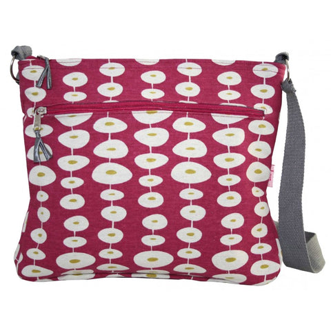 Large Messenger Bag - Oval Pink