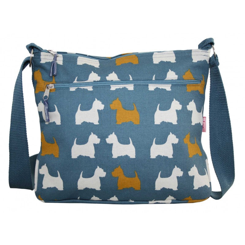 Large Messenger Bag - Scottie Dog
