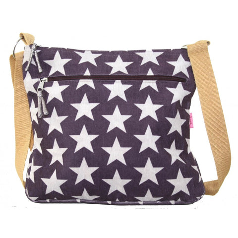 Large Messenger Bag - Stars
