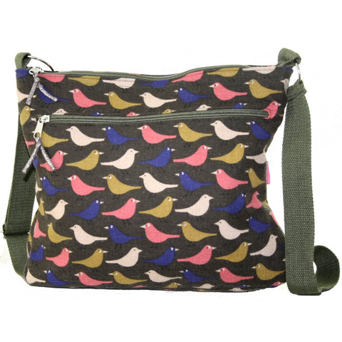 Messenger Bag - birds
