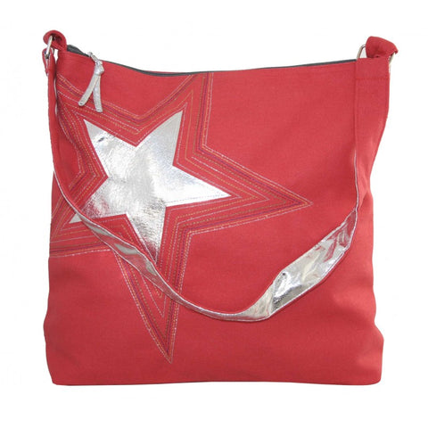 Embroidered Star Shoulderbag