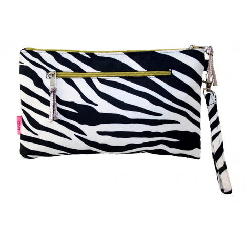 Clutch Bag - Zebra