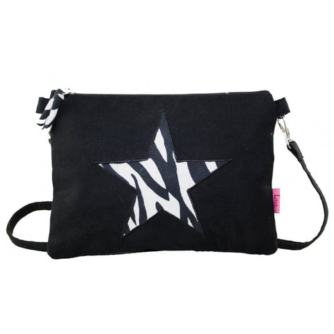Mini Bag - Zebra Star