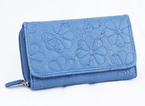Large Flower Purse - Various Colours