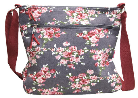 Large Floral Messenger bag