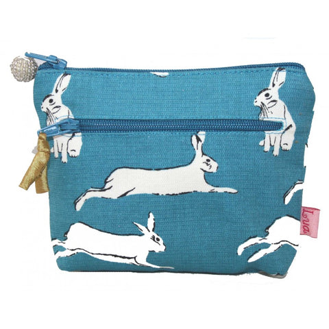 2 Zip Coin Purse - Hares