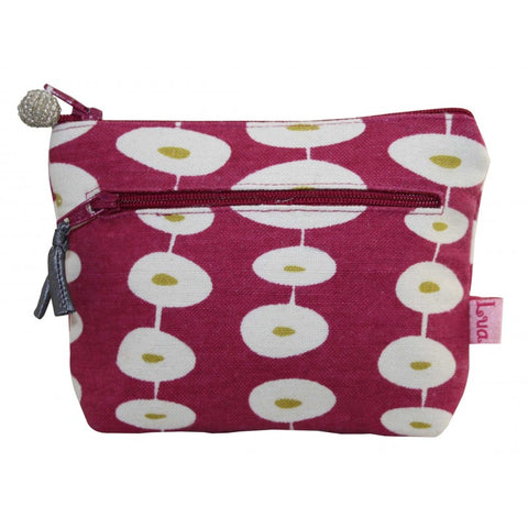 2 Zip Coin Purse - Oval