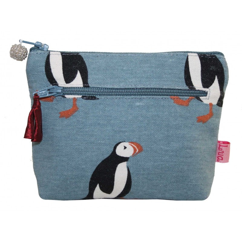 2 Zip Coin Purse - Puffin