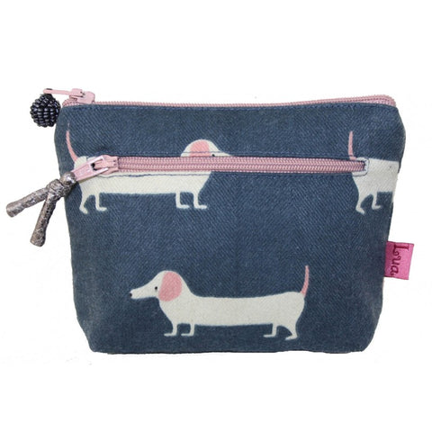 2 Zip purse - dogs