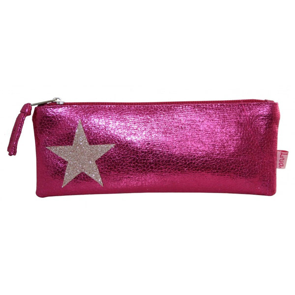 Metallic Star Cosmetic / Pen purse