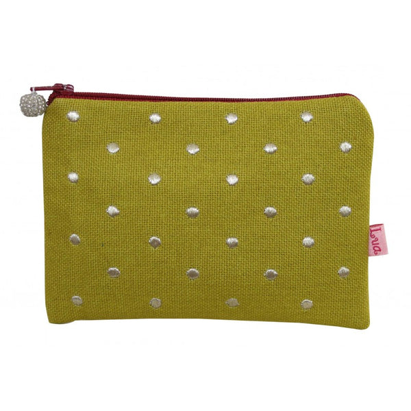 Dotty Embroidered Purse