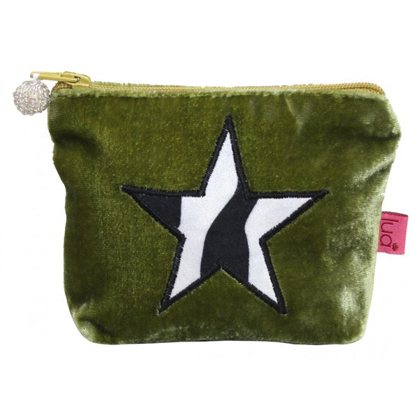 Mini Coin Purse - Zebra Star