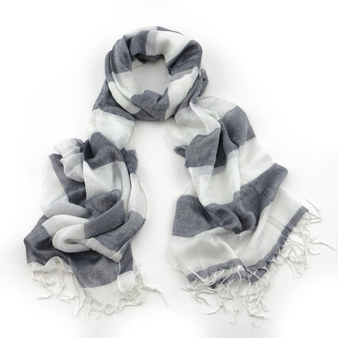 Salcombe Scarf - Various Colours