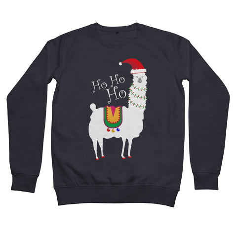 Christmas Llama Women's Retail Sweatshirt