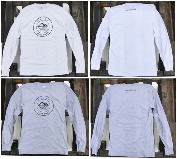 Maine vs the World Long Sleeve T-Shirts