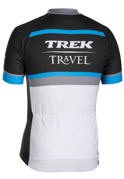 Men's Blue and Black Jersey