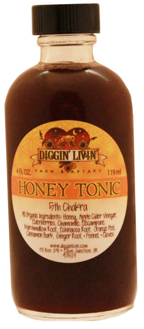 Honey Tonic - 5th Chakra - 4 oz.