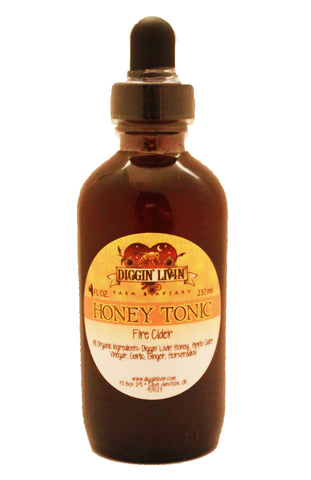 Honey Tonic - Fire Cider - 4 oz.