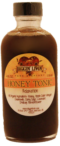 Honey Tonic - Relaxation - 4 oz.