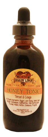Honey Tonic - Throat & Cough - 4 oz.