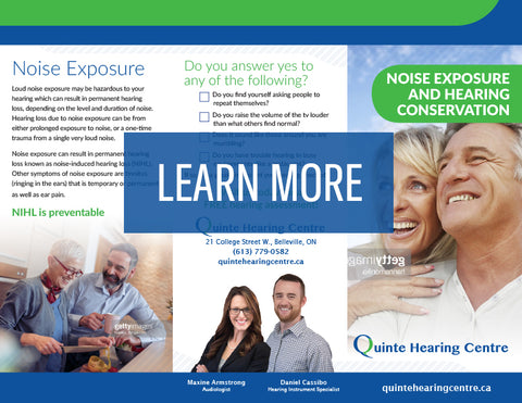 QHC Noise Exposure And Hearing Conservation
