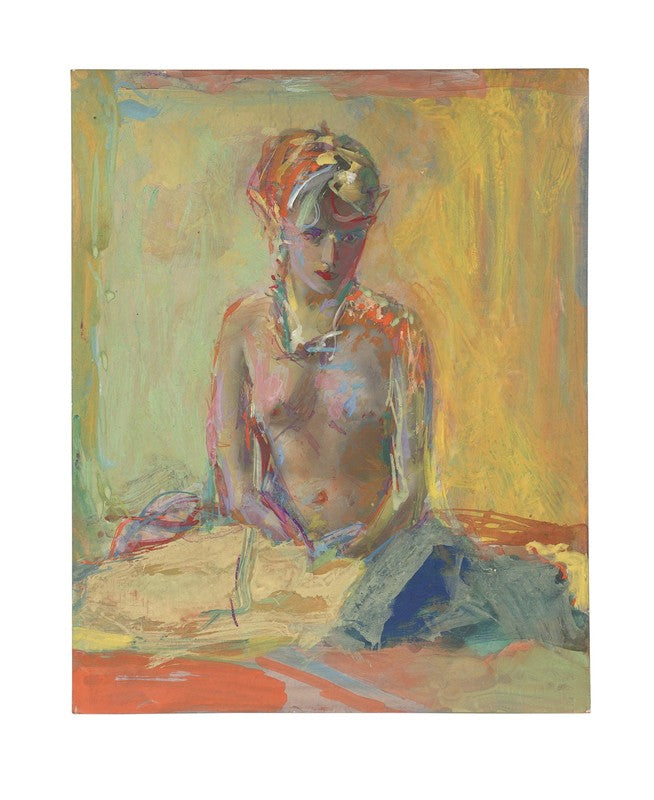 Saul Leiter Painted Nudes