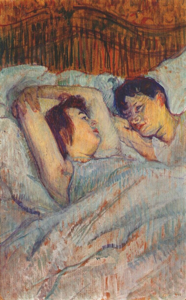 In bed, Toulouse Lautrec 1892