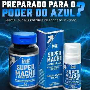 COMBO - Super Macho Gel e Cápsulas