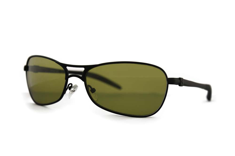 Callaway 1202 Sunglasses Black Frame Yellow Photochromic Lenses Size 58