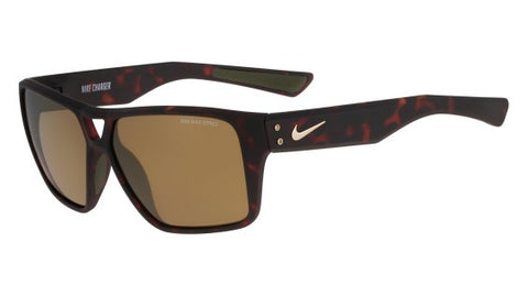 Nike Charger R EV0764 Sunglass 202 Matte Tortoise Frame Brown/Bronze Lenses Size 59-13-140
