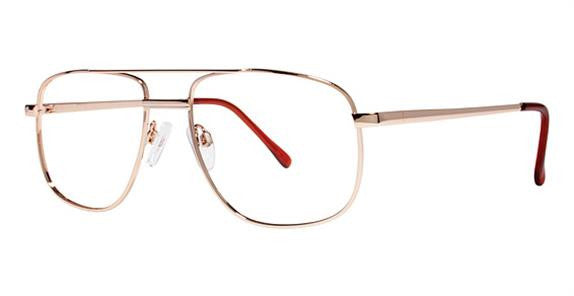 Modern Commando Eyeglass Gold Frame