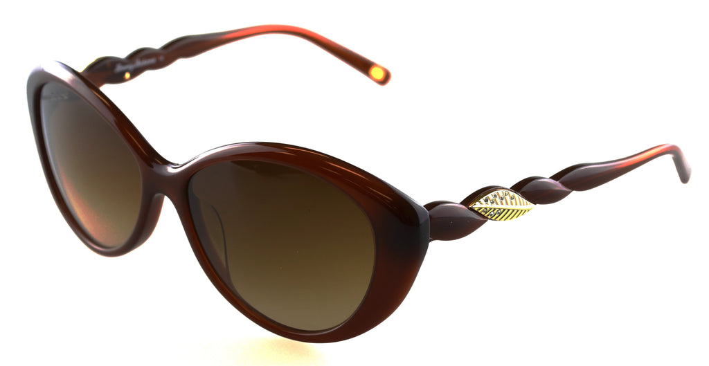 Tommy Bahama TB7039 Nauti Girl Sunglasses 200 Brown Frame Brown Lenses