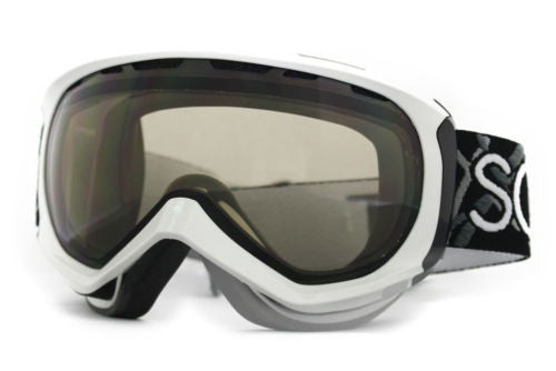 Scott Reply Goggles white Frame Natural Lens