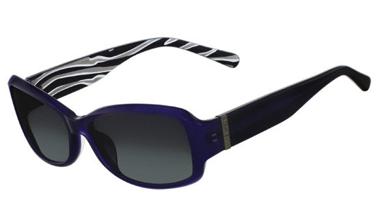 Nine West NW501S Sunglass 434 Navy Frame Size 55-16-130