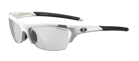 Tifosi Radius 1050301134 Sunglasses Pearl White Frame Polarized Smoke Lenses