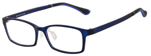 CNC Collection 8606 Eyeglass C7 Dark Blue Frame Size 52-16-144