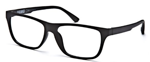 One Collection UT2282 Eyeglass C51 Matte Black Frame Size 54-15-140