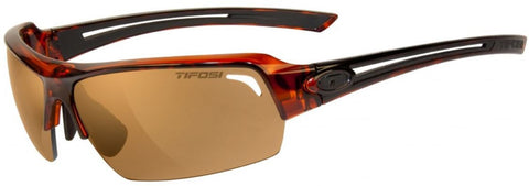 Tifosi Just 1210401071 Sunglasses Tortoise Frame Polarized Photochromic Brown Lenses