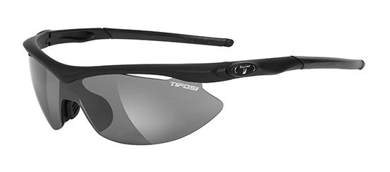 Tifosi Slip 0010200115 Sunglasses Matte Black Frame Polarized Smoke/GT/EC Lenses
