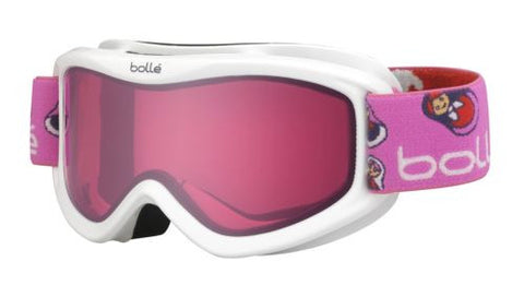 Bolle Amp Goggles White/Matriochka Frame Vermillon Lens Youth