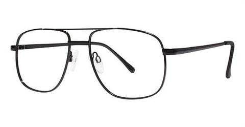 Modern Commando Eyeglass Black Frame