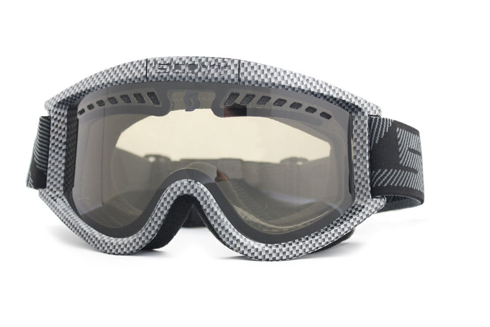 Scott Heli Plus OTG Goggles carbon Frame natural Lens