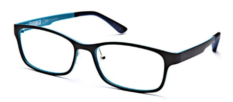One Collection UT2148 Eyeglass Black Matte Frame Size 55-17-140