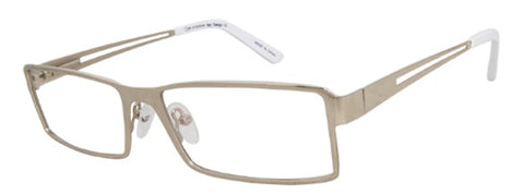 One Collection RS428 Eyeglass Silver Frame Size 55-16-135
