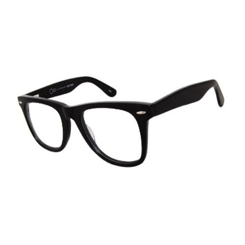 One Collection Wayfarer KL4008 Eyeglass Brown Frame Size 51-22-145