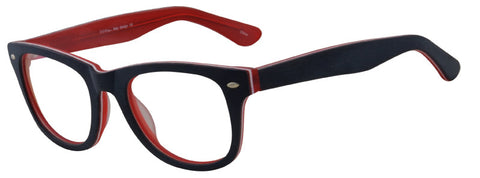 Seeline I-RB2 Eyeglass C8 Blue White Red Frame Size 51-22-135