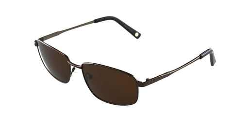 Callaway Hosel Sunglasses Brown Frame Brown Polarized Lenses Size 56