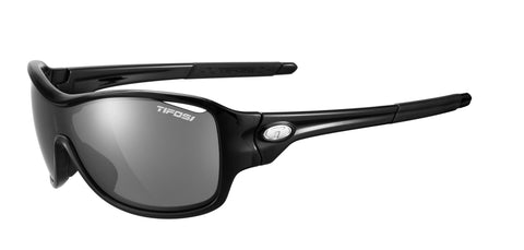 Tifosi Rumor Sunglasses Gloss Black Frame Smoke Lenses