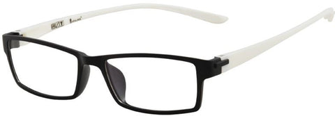 CNC Collection 701 Eyeglass C08 Black White Frame Size 52-16-140